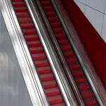 Magnifika rulltrappor i Uppsala (pressbild från peab.ukk.se)