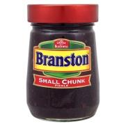 Branston Pickle - just en sådan här burk har jag precis fått hemlevererad av min ömma moder.