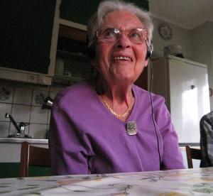 Älskade farmor som glad 92-åring