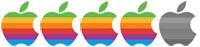 4 äpplen av 5